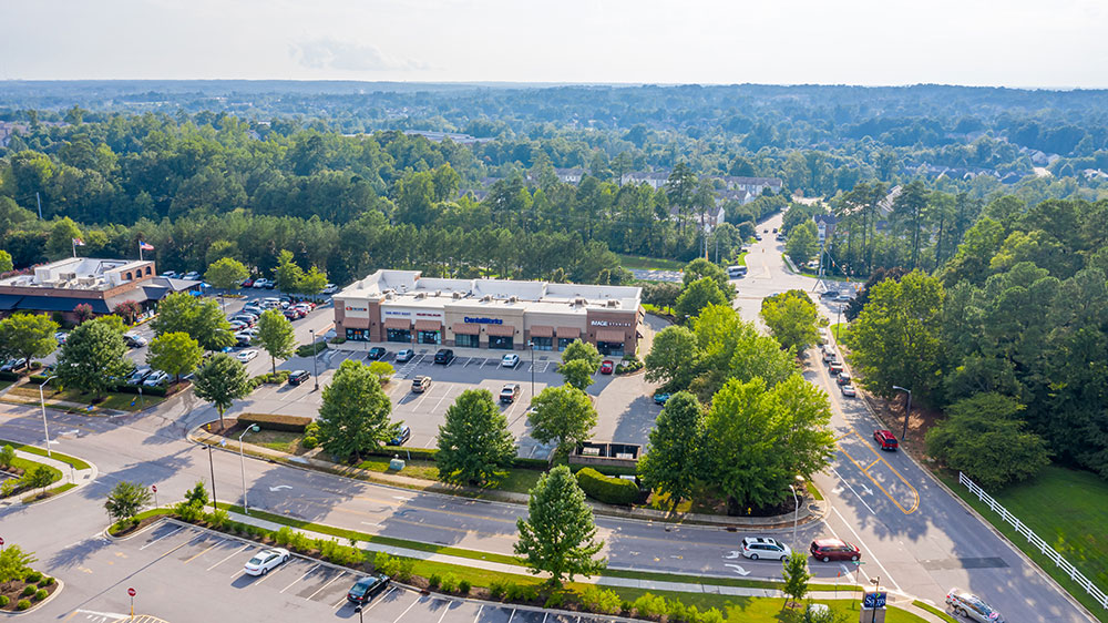 Real Estate Property - North Carolina, Wake Forest Developement Caveness Siteplan - Office and Retail Space Available for Lease